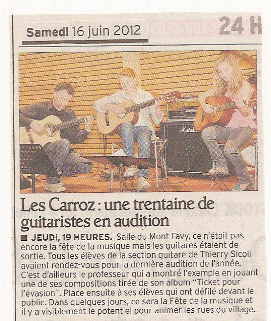 audition 2012